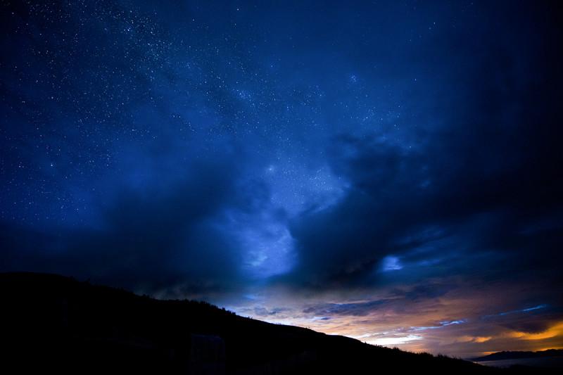 雨季牛背山惊险之旅 云海星空雪山齐聚 组图图片