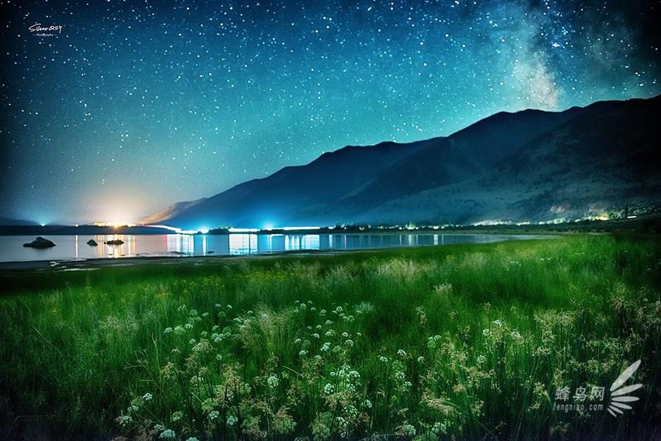 涤荡心灵的风景 国外留学生拍梦幻星空 组图