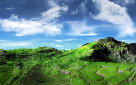 1680*1050高清宽屏PS唯美风景壁纸欣赏