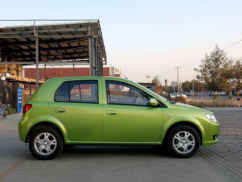 天津一汽 威志两厢 1.3 手动豪华型车身外观1288501高清图片