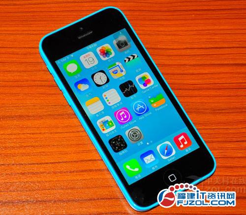 全新iOS 7操作系统 苹果5C行货仅4150元-苹果