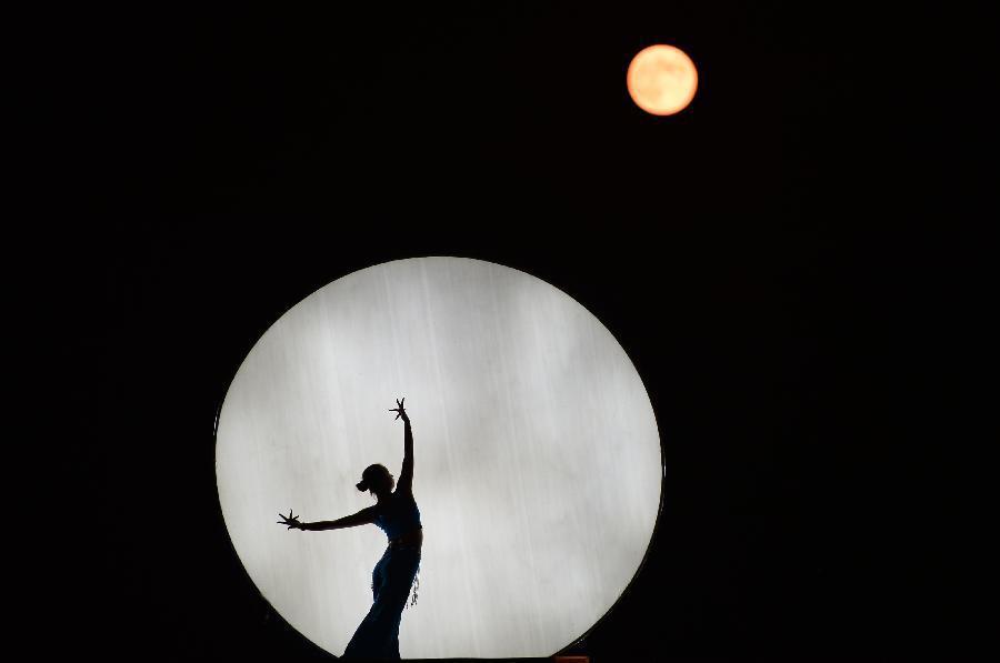 月亮里面的图片