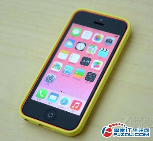 苹果A6处理器智能手机 苹果5C售3480元-苹果