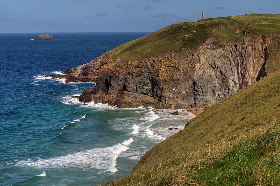 大不列颠岛西南端的半岛