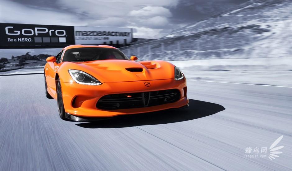 道奇蝰蛇srt viper超跑 自吸引擎王中王