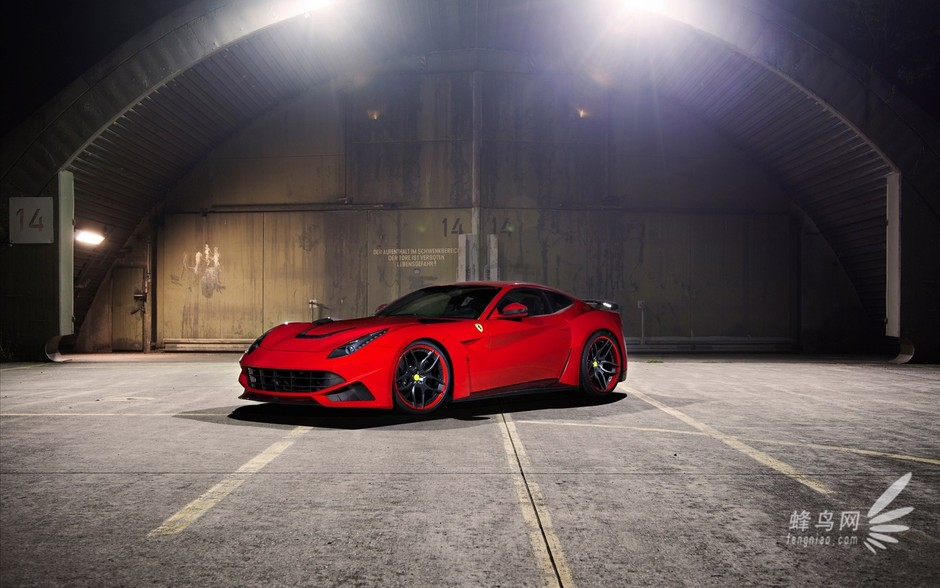 法拉利f12超级性能版 最高车速350km h 法拉利f12超级性能高清图片