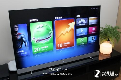 顶配473D智全能小米电视郑州解码到货电视视频图片