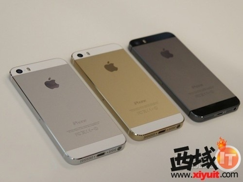 图为:苹果 iphone 5s 手机