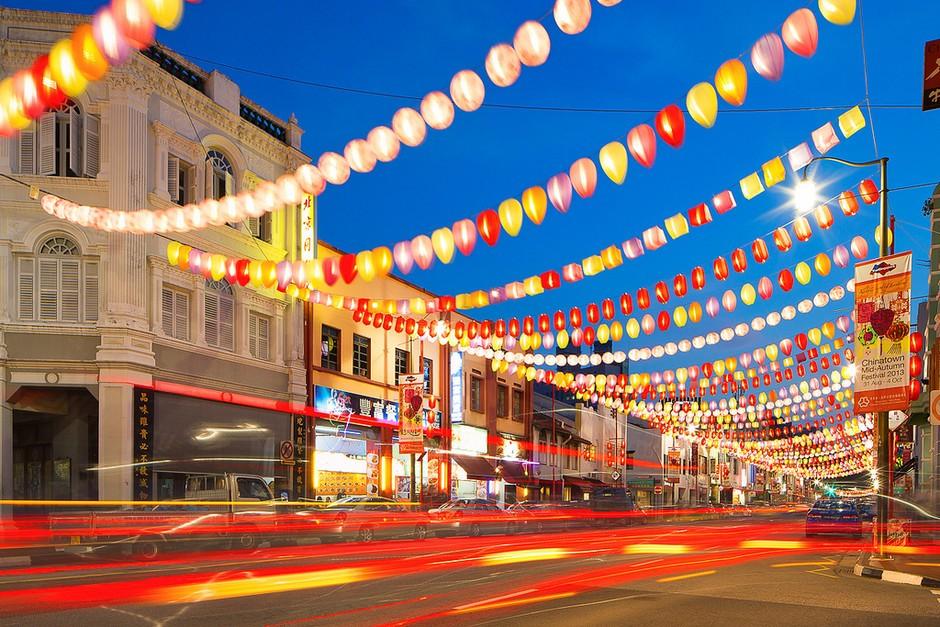 世界上最干净的城市 新加坡秀丽城市风光套图-第7张