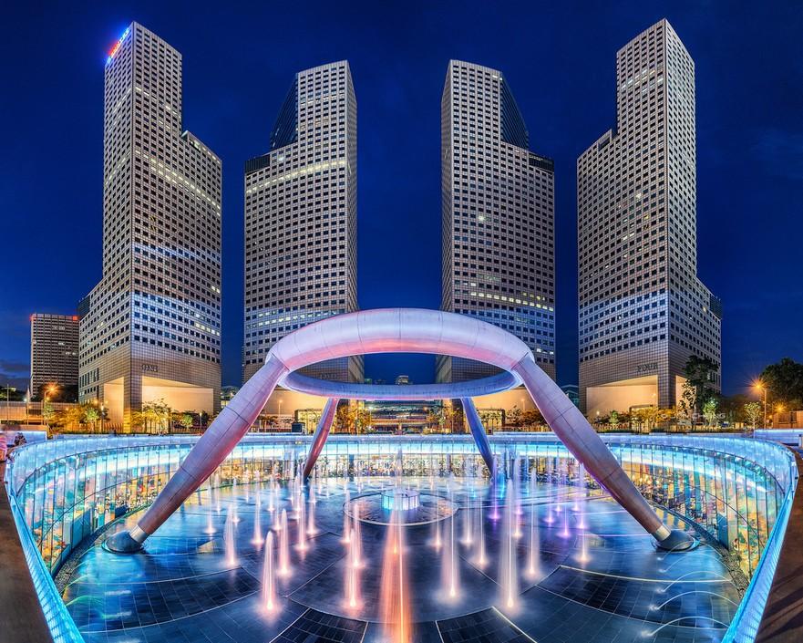 世界上最干净的城市 新加坡秀丽城市风光套图-第12张