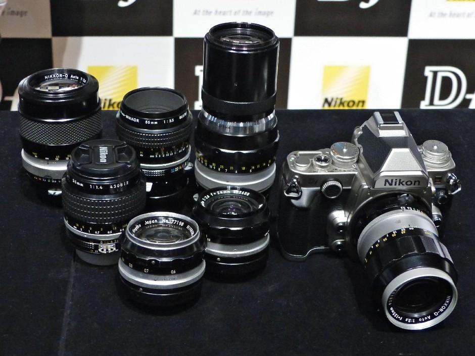 尼康Df实现老测光v测光-安装图纸尼康Df转接原科勒882t镜头安装图片