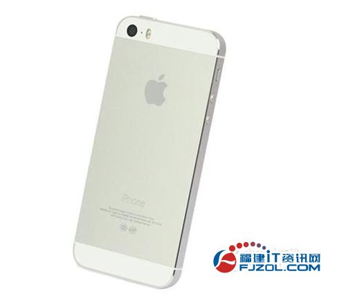 银色也洋气 苹果iPhone 5s售价4530元