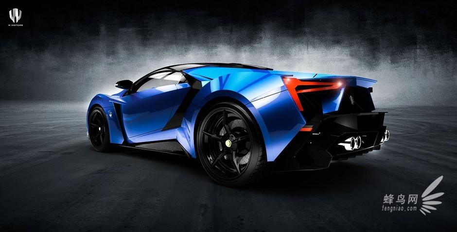 ?n???w?_售价340万美元 w motors推出超级跑车 组图