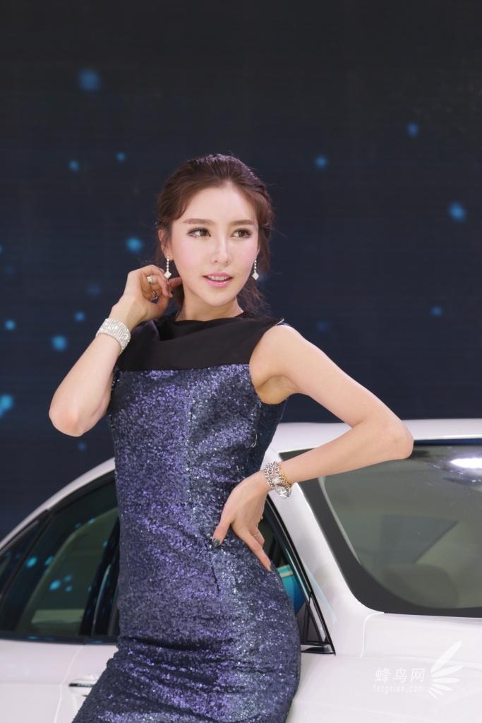 2013第十一届广州车展 福特展台模特 组图