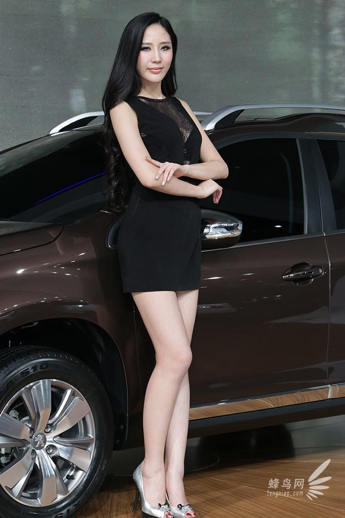 2013第十一届广州车展 标致展台模特 组图