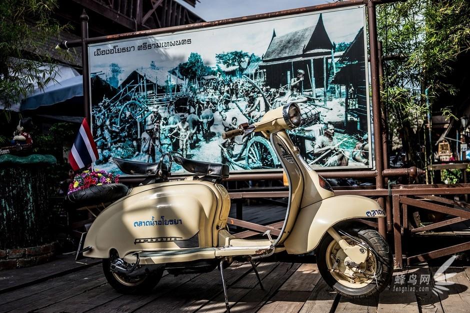 摩托车是泰国保有量非常大的交通工具-东南亚魅力