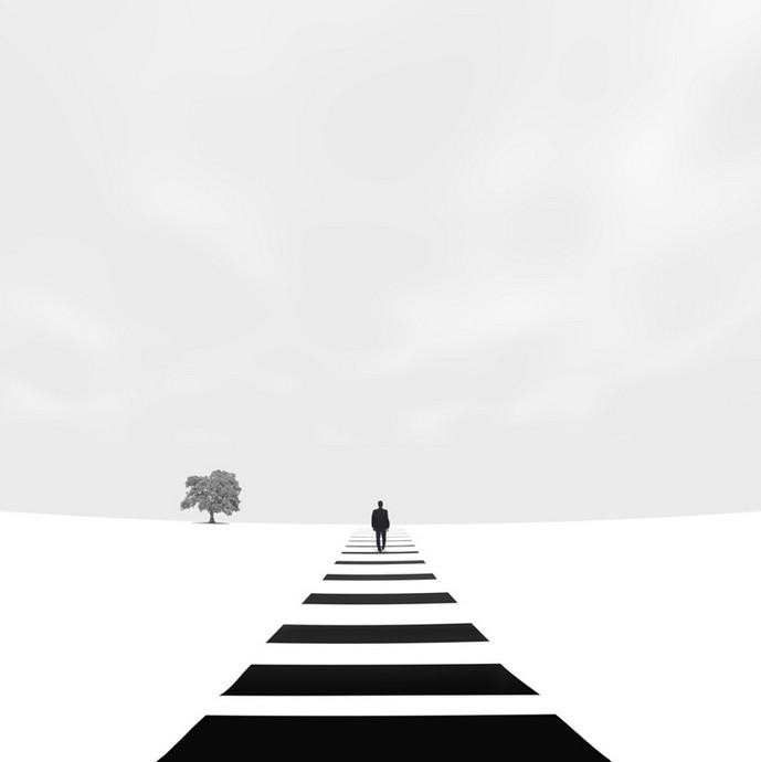 欢迎来到我的黑白世界,   黑夜,白天,所有的一切,清楚的分类.