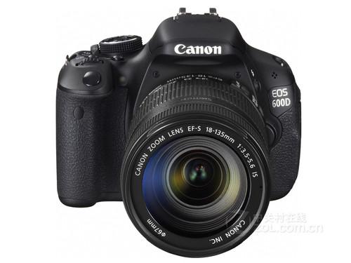 佳能单反相机600D-可旋转液晶屏 佳能600D套机售3604元