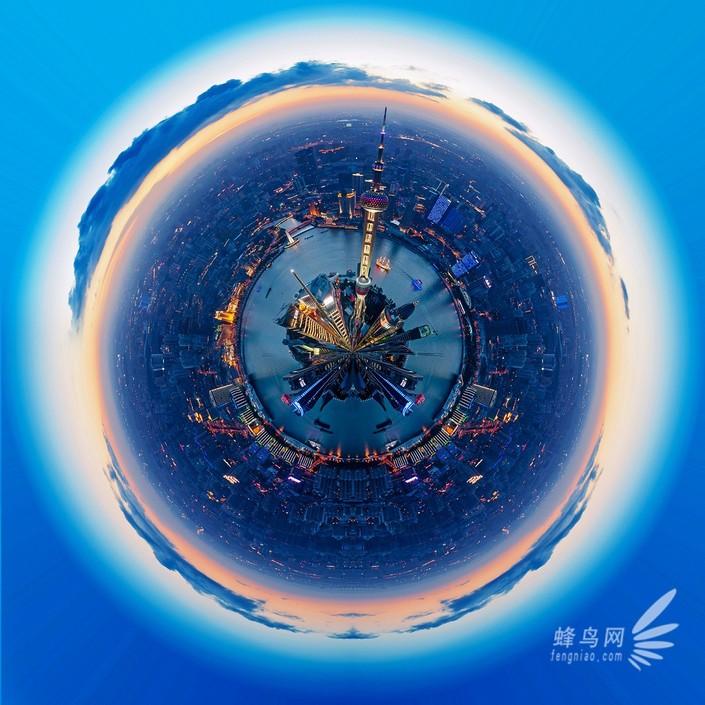 """""""微型星球""""上的美丽世界 观念摄影作品 组图"""