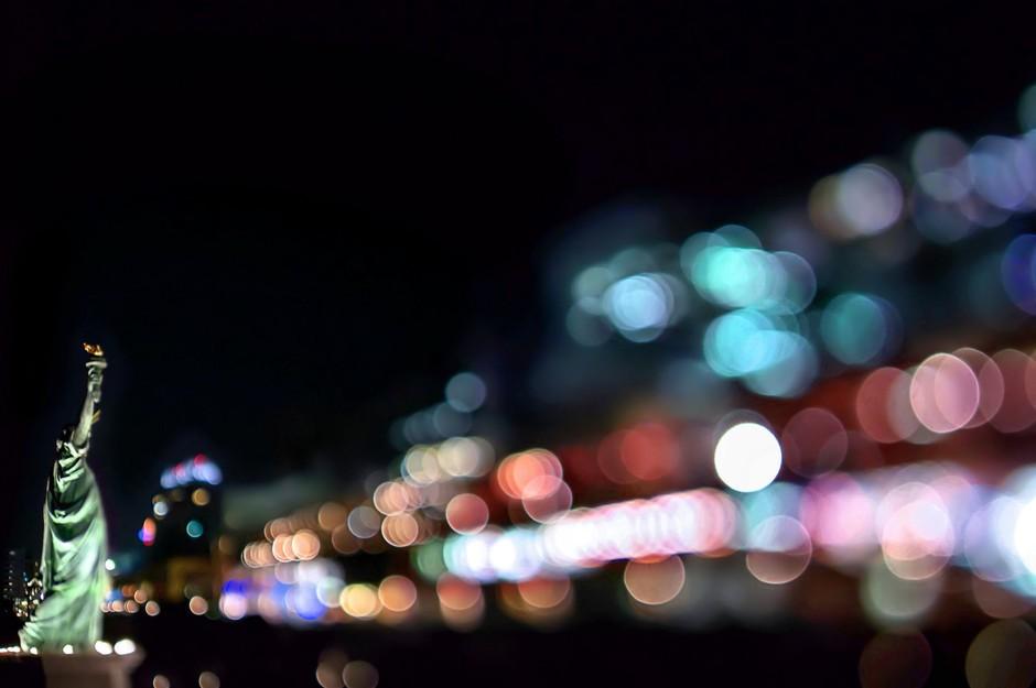 巧用梦幻光斑做前景 学拍全景城市夜色套图 第