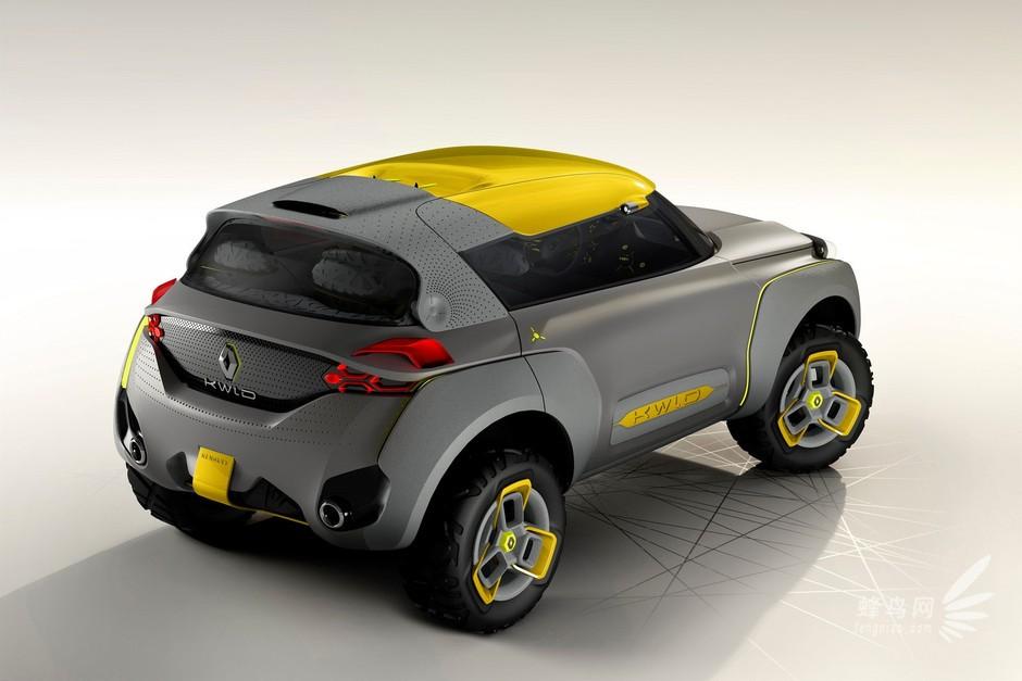 可爱型设计 2014款雷诺 kwid 概念车 组图