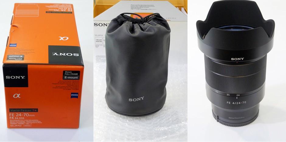 索尼蔡司Vario-Tessar T* FE 24-70mm F4 ZA OSS是一款兼具高性能成像与便携性的全画幅标准变焦镜头,适合拍摄如风光、人像与小品等各种不同类型的摄影题材。我们通过日本本土网站的相关报道,来了解一下这款产品的量产版实物。 如图所示,它体积小巧且结构紧凑。二围尺寸仅为73x94.
