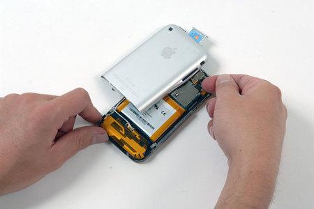 苹果iphone手机拆解 采用三星闪存(图)