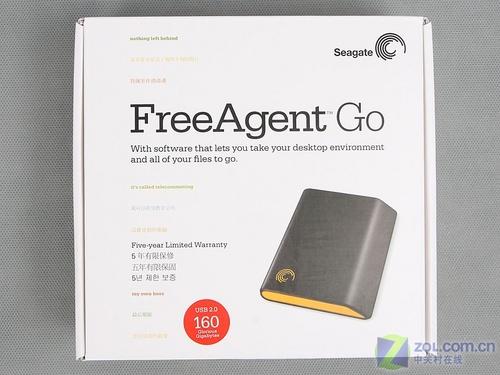 行货登场 测希捷FreeAgent移动硬盘