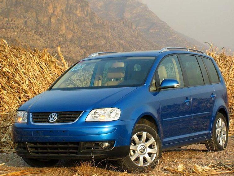 大众 途安2.0l 7座手动舒适图酷 上海大众国产汽车清晰大图高清图片