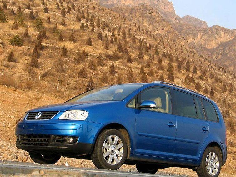 大众 途安2.0l 7座手动舒适清晰图片 上海大众国产汽车清晰图高清图片