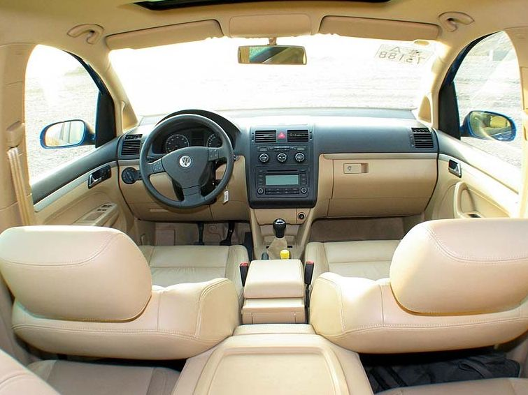 大众 途安2.0l 7座手动舒适清晰大图 上海大众国产汽车大图高清图片