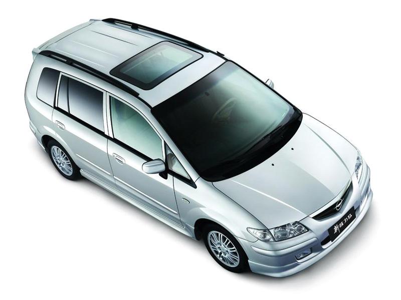 海马汽车 新普力马1.8 手动豪华7座高清图片