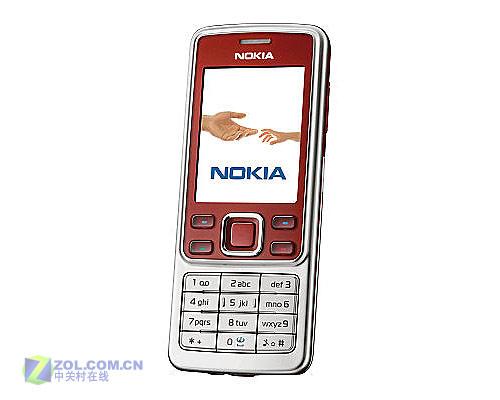 (中关村在线手机频道行情报道)2007年9月21日,诺基亚6300红色版