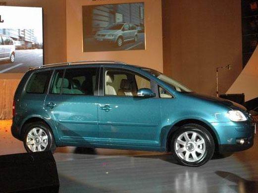 海大众 途安2.0l 7座手动舒适产品图 上海大众国产汽车组图高清图片