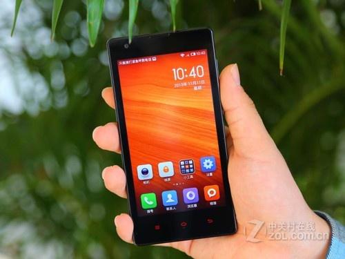 图为:红米手机1S电信版-送原装贴膜 电信红米1s带票特价1240元