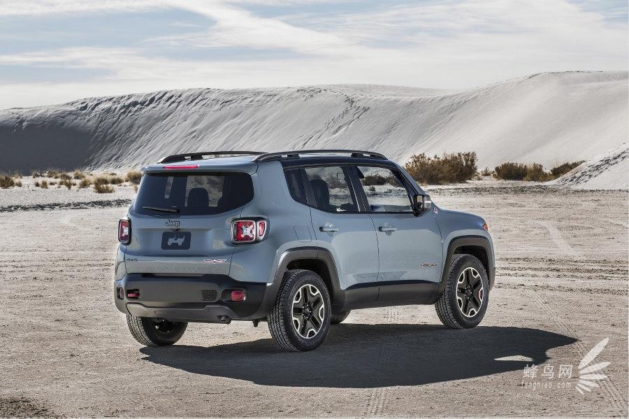 jeep挅ce�^h�^K�p_新车曝光 2015款jeep renegade 自由侠 组图