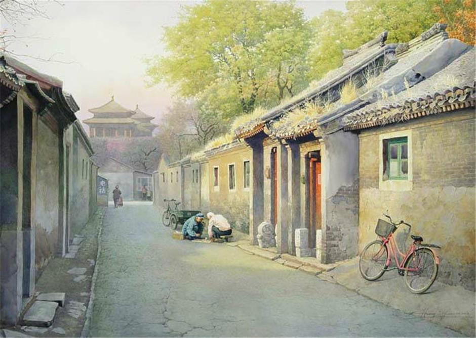 壁纸 风景 古镇 建筑 街道 旅游 摄影 小巷 940_669