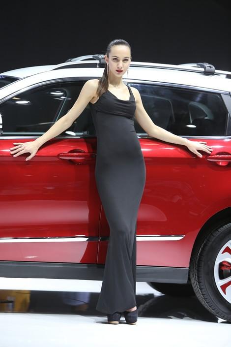 2014第十三届北京车展 海南马自达模特 组图