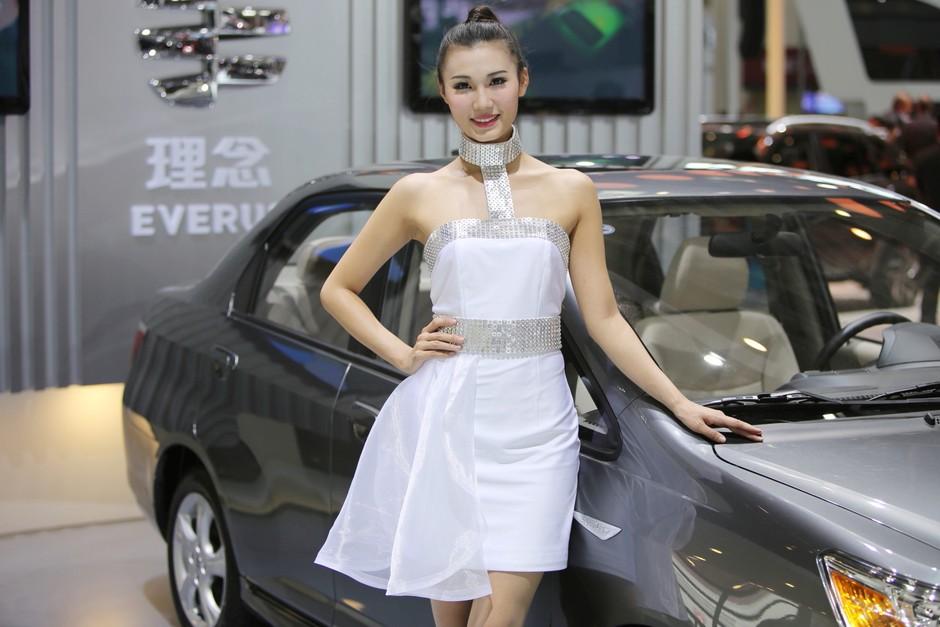2014第十三届北京车展 广州本田展台模特 组图