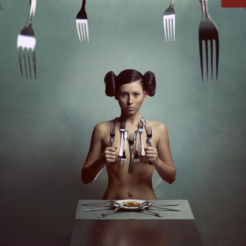 蒙太奇感的人体创意摄影