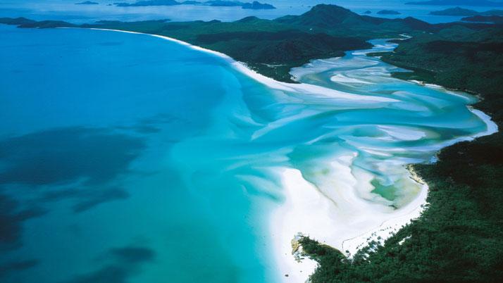 圣灵岛,澳大利亚-全球100个仙境般的美景