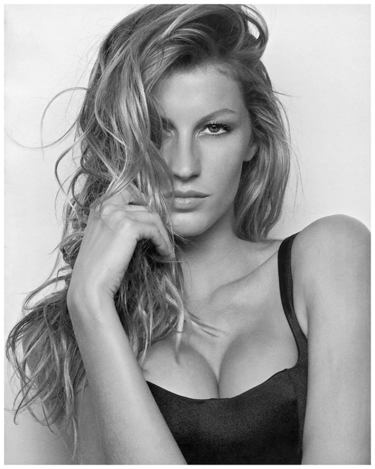 Gisele Bundchen 不看足球看美女 上帝创造的十