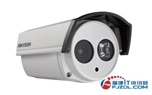 图为:海康威视DS-2CE16C2P-IT3监控摄像机-福州万彩承接安防监控 图片