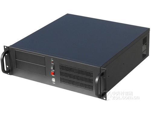 拓普龙3u450b服务器机箱设计有7个标准3.5硬盘位,2个标准5.
