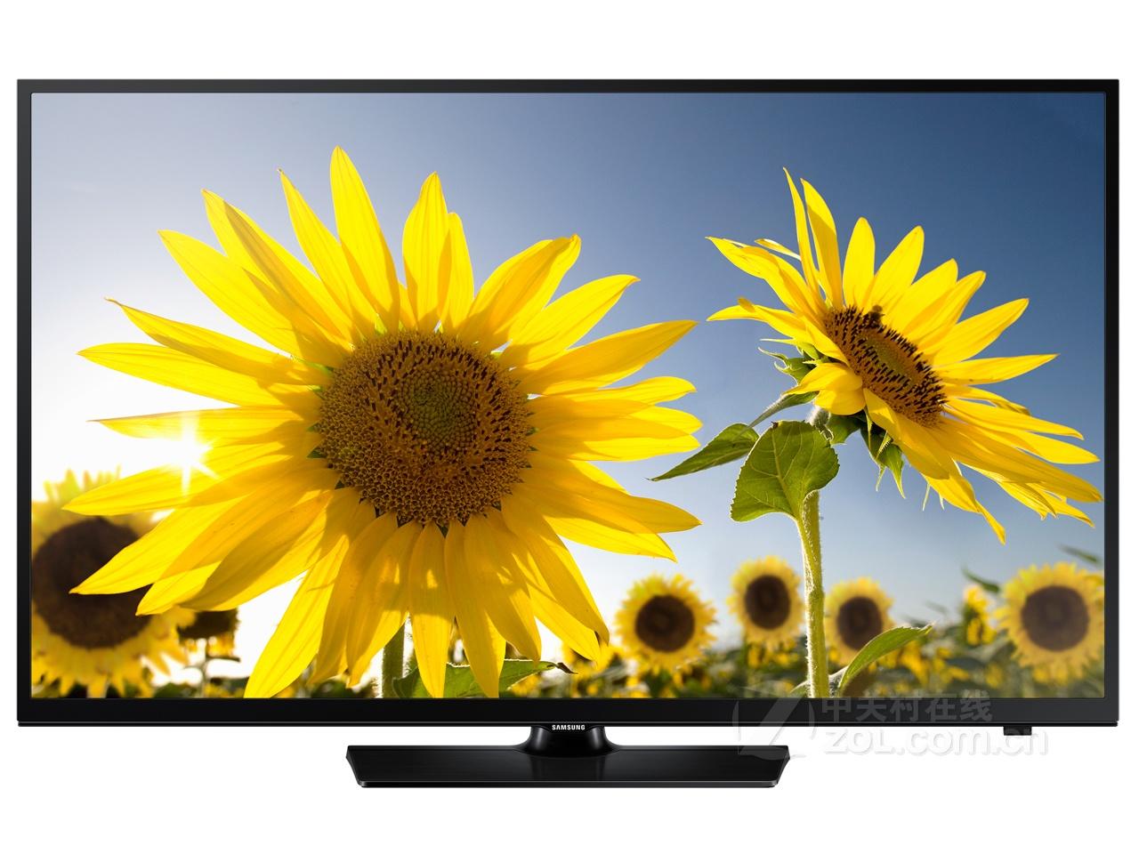 这款三星电视秉承了三星经典的one design极致窄边框设计,外观比较