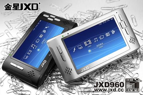 可更换电池 金星4英寸宽屏JXD960图赏