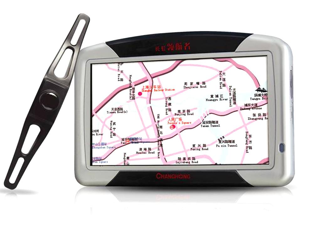 长虹领航者 GPS411组图 长虹领航者 GPS411图酷 长虹领航者GPS定位设备图片欣赏
