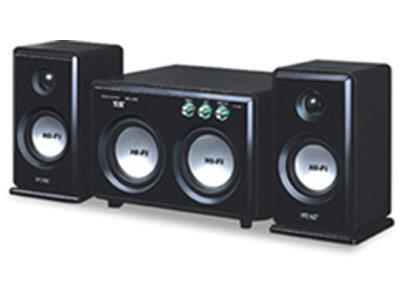 低音单元 索爱新款2.1音箱上市