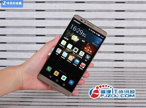 图为:华为Mate 7手机正面-八核6英寸大屏机 华为Mate 7泉州3500元