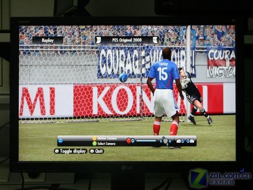 实况足球2008门将_在对色彩控制选项进行调节之后,《实况足球2008》的画面效果改变还